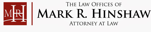 The Law Offices of Mark R. Hinshaw is a Sponsor!