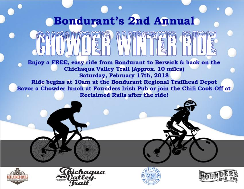 2018 CHOWDER Winter Ride