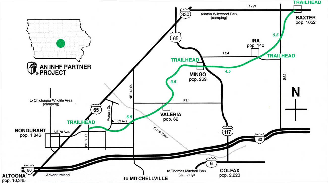 Chichaqua Valley Trail Map