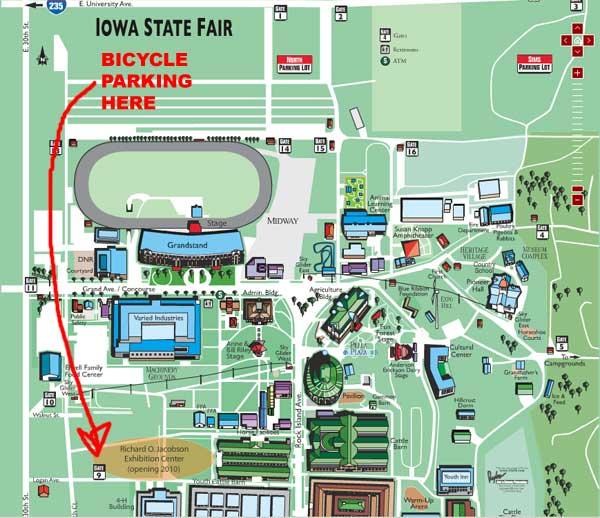 Iowa State Fair  Food Map