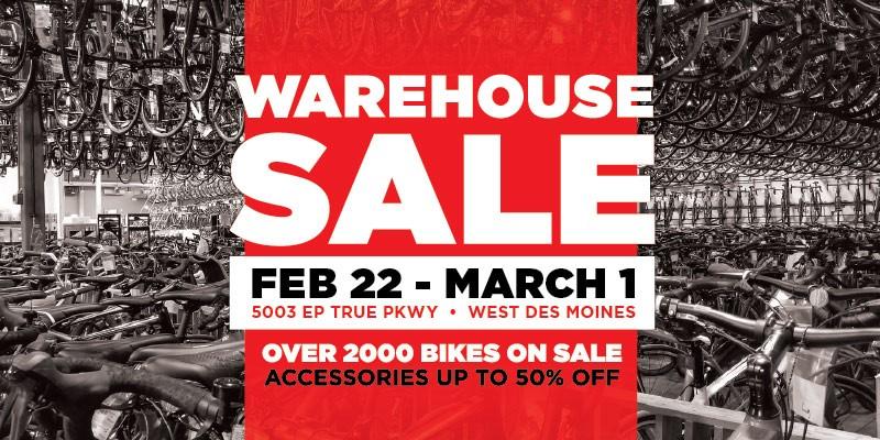 Bike World Warehouse Sale 2020