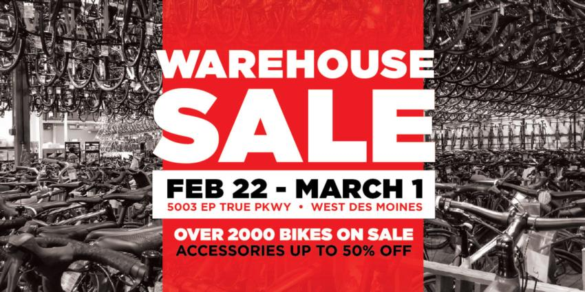 Bike World Warehouse Sale [2020]
