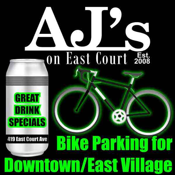 View AJ's on East Court